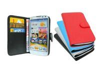 Book-Style Handy Hülle Tasche Etui Case Zubehör für Huawei Ascend G610 @COFI