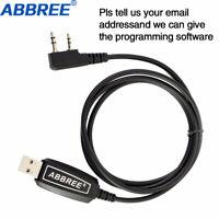 Abbree USB Programming Cable For ABBREE AR-F6 AR-889G AR-F8 AR-52 AR-25W