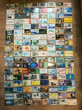 140 UKRAINE PHONE CARDS ( USED ) 2 photos BIG VINTAGE COLLECTIONS, RARE