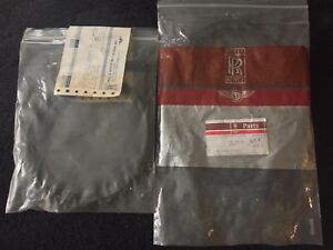 Rolls-Royce Bentley Corniche 1976-95 Front Fairing Seals Set PW56124 NOS OEM NEW