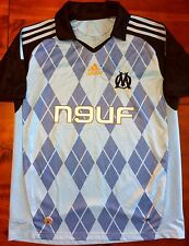 Adidas MARSEILLE 2008/09 XL Away Soccer Jersey Football Shirt Débardeur France