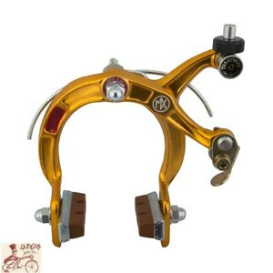DIA-COMPE MX-1000 CALIPER FRONT OR REAR GOLD BICYCLE BRAKE