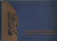 (RARE - only 3000 printed) Czechoslovakia Fights For Freedom