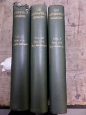 THE GEOGRAPHICAL MAGAZINE 1936/7 - 3 volumes of bound issues vol II, III & V