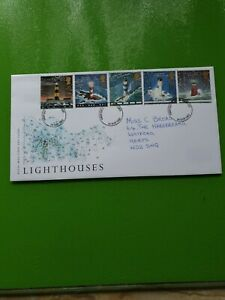 GB STAMPS FIRST DAY COVER 1998 LIGHTHOUSES