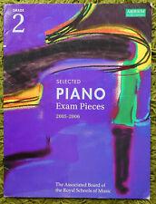 Selected Piano Exam Pieces Grade 2 (2005-2006): ABRSM 9 Pieces Clean Copy