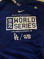 NWT Nike Los Angeles Dodgers World Series MLB Baseball Size L Men's T Shirt