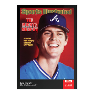 2021 Topps x Sports Illustrated - Dale Murphy Card #50 Atlanta Braves PRE ORDER