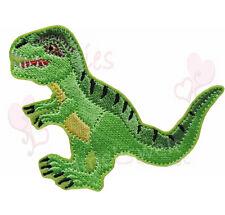 T Rex Dinosaurier Aufbügler Aufnäher Bügelbild T-Rex Schultüte