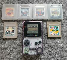 Nintendo Game Boy Color - Klar mit 8 Spielen (Tetris, Pokémon, Hugo etc.)