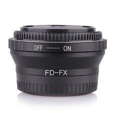 Canon FD Lens to Fujifilm X Mount Fuji X-Pro1 X-E2 X-M2 Adapter with 2pcs caps