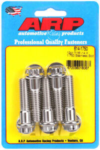 ARP614-1750 ARP 614-1750 7/16-14 X 1.750 12Pt 1/2 Wrenching SS Bolts