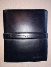 Maserati large document holder, leather.