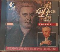 Rare Bach Organ Works Vol 1 Jean Guillou Dorian 90111 16 Tracks CD Sealed USA