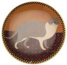 c1995 Lenox Welcome Cat plate by Warren Kimble CP729