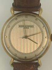 Vacheron Constantin Rare Guilloche Stars Dial Vintage In Yellow Gold ( 168)