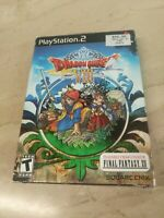 Dragon Quest VIII Journey of the Cursed King PlayStation 2 PS2 Square Enix