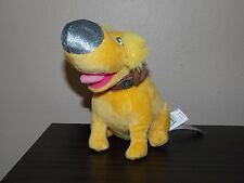 "Disney Pixar UP Puppy Yellow  Dog DUG 8"" Plush Stuffed"