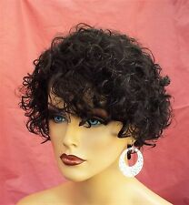 BRAZILIAN REMY HUMAN HAIR NATURAL BLACK WIG *TINT OR BLEACH AS U WISH 361