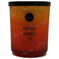 DW Home Large 15oz Candle 56 Hour Large Double Wick - Papaya Mango Scent