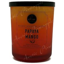 DW Home Large 15oz Candle 56 Hour Large Double Wick - Papaya Mango Scent