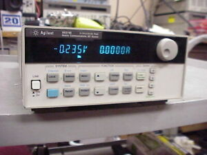 HP 66311B Mobile Communications DC Source 0-15V,0-3A,5A Peak TESTED CALIBRATED