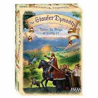 THE STAUFER DYNASTY BOARD GAME Z-MAN GAMES BRAND NEW AGE 13+ YEARS HENRY VI