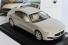 MASERATI QUATTROPORTE GTS METAL GREY WHITEBOX WBS039 1/43 LHD LEFT HAND DRIVE