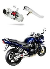 DOMINATOR exhaust silencer muffler GP I SUZUKI GSF 1200 BANDIT 01-05 + db killer