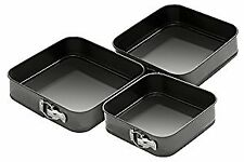 Spring Form Cake Tins - Set of 3