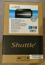 Shuttle XPC X27D Barebone Mini PC, Dual-core Intel Atom 330 - Brand New