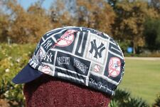 CYCLING CAP NEW YORK YANKEES  100% COTTON HANDMADE
