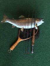 Custom made 6'6�, 4pc, 3wt, fast action fly rod, walnut grip