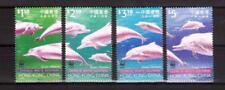 HONG KONG 1999 white dolphins set MUH