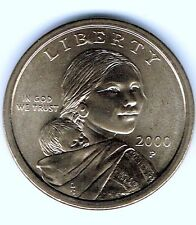 2000-P $1 Brilliant Uncirculated Business Strike Sacagawea Dollar Coin!