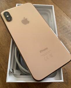 iphone XS 64gb Gold EX in box Inc accs Vodaphone