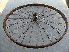 altes Rad Vorderrad Felge Wulstfelge Wulstrad verstärkte Nabe Fahrrad