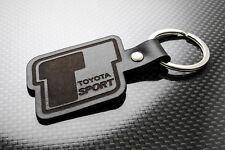 TOYOTA T-SPORT cuir Porte-clés Porte-clef Porte-clés YARIS COROLLA