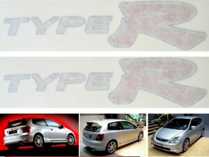 Honda Civic Type R EP3 2 x Side Sticker Decals