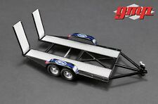 GMP 1/43 GMP Tandem Car Trailer with Tire Rack - Ford GMP-14305