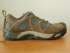 Keen Hiking Shoes - Women's Size 6.5, Tan and Blue IN GREAT CONDITION