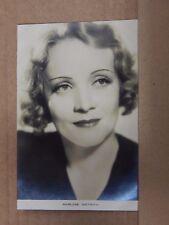 Film Star Postcard Marlene Dietrich Real photo unposted Film weekly series PB