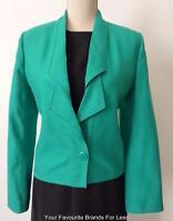 LOUIS FERAUD VINTAGE Wool Jacket Made in Germany Size 8 - 10  US 6 FR 38 D 36
