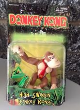1999 Nintendo# Donkey Kong High Swingin' Donkey Kong Figure#Mosc