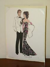 Sketch Only from 45th Anniversary Silkstone Barbie & Ken Giftset Robert Best