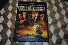 Pirates of the Caribbean Curse Black Pearl DVD 2 Disc