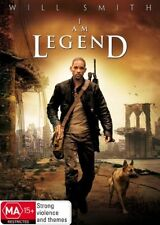I AM LEGEND - 2007 - R4 LIKE NEW DVD WILL SMITH MA 15+