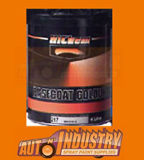 AUTO PAINT BASECOAT MIXED COLOUR 1LTR.MOST COLORS AVAILABLE WITH PAINT CODE/NAME