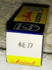 NOS  6EJ7 (EF184) vacuum tube radio TV valve, TESTED