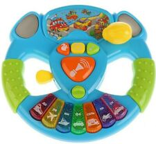 Steering Wheel Musical Interactive Toy IN RUSSIAN. 27 SONGS AND POEMS